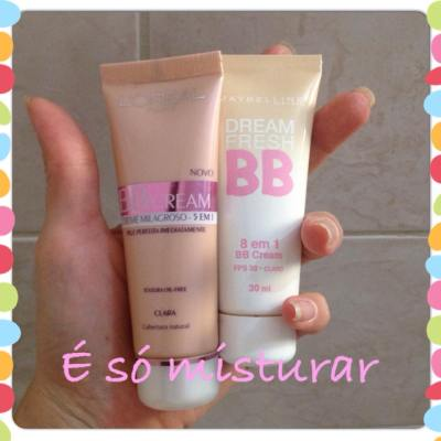 bb cream loreal maybelline